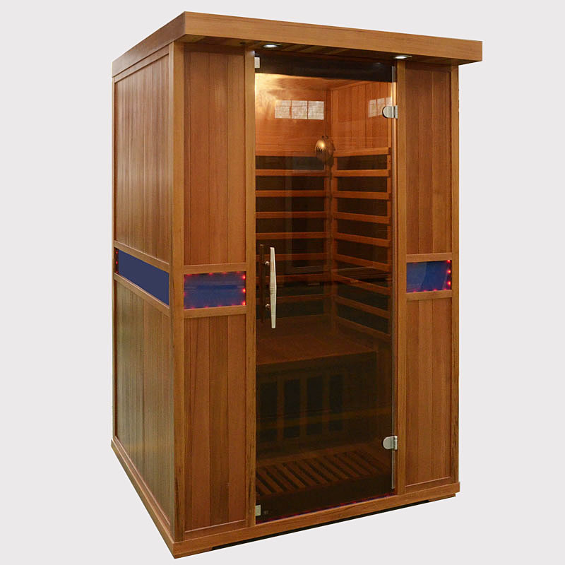 Wooden Far Infrared Sauna Room/Indoor Sauna Steam Room /Infrared SPA Sauna Room Manufacture