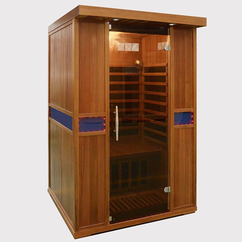 Wooden Far Infrared Sauna Room/Indoor Sauna Steam Room /Infrared SPA Sauna Room Manufacture