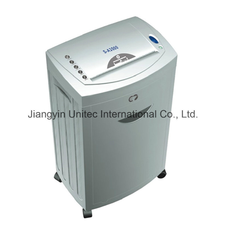 Office and Home Cross-Cut Paper Shredder S-A3000