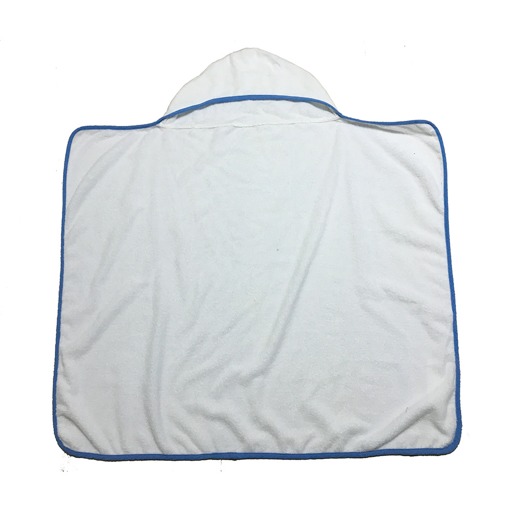 Wholesale Custom Cotton Plain Baby Blanket Hooded Towel