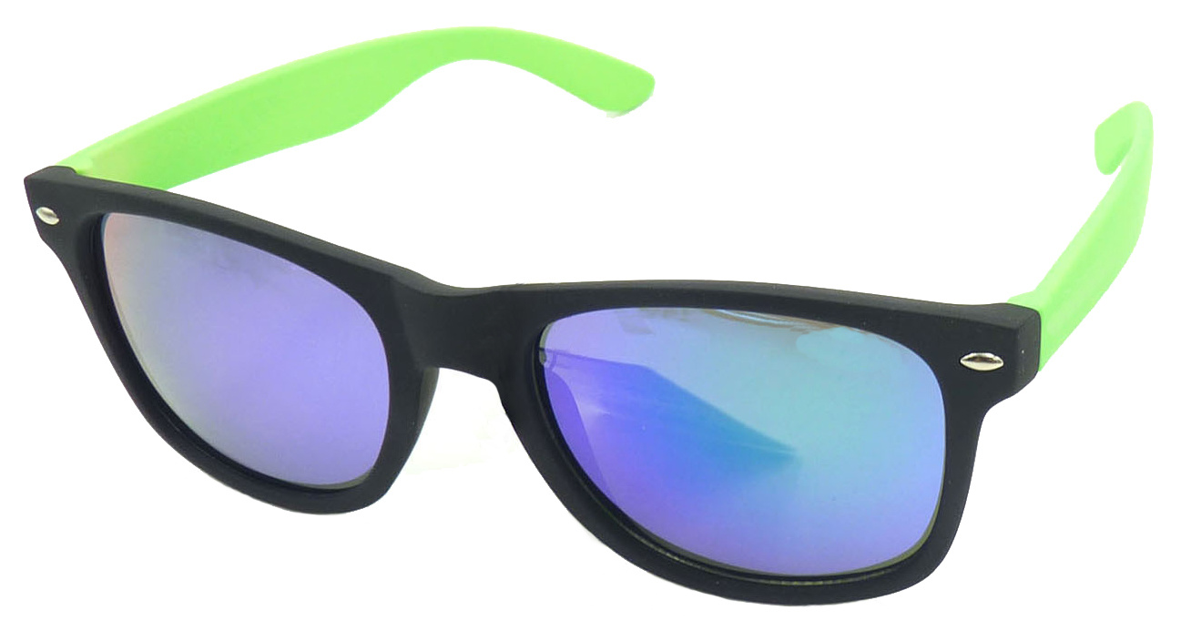 F2204 Wholesale Quality Hotsale Cheap Plastic Rayband Style Sunglasses