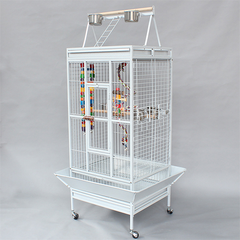 Heavy Duty Metal Large Bird Parrot Cage