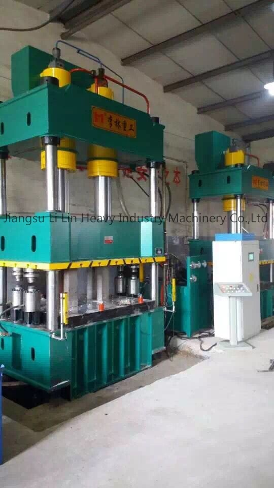 Four-Column Single-Movement Hydraulic Press for Sheet Metal Drawing Yll27-315
