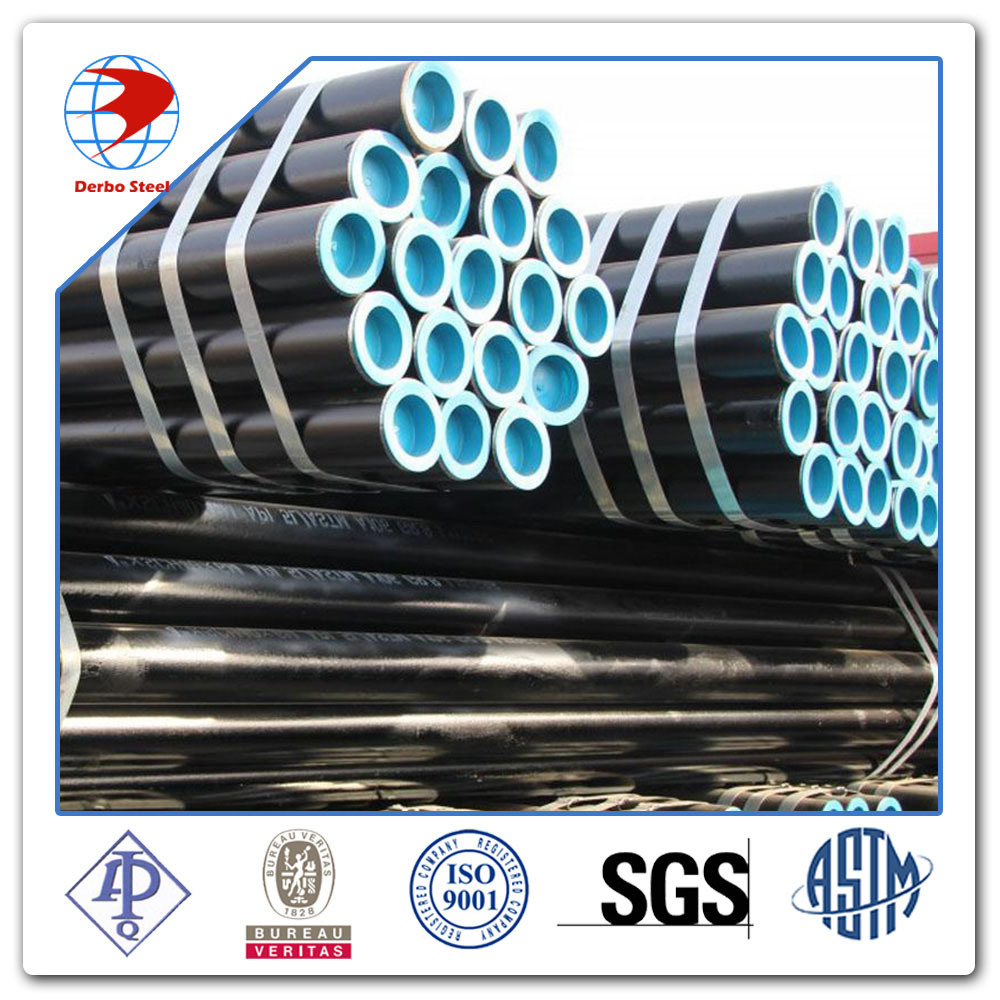 API 5L Grade B/ X42/52/X60/X65/70 Carbon Steel Seamless Oil Gas Line Pipe