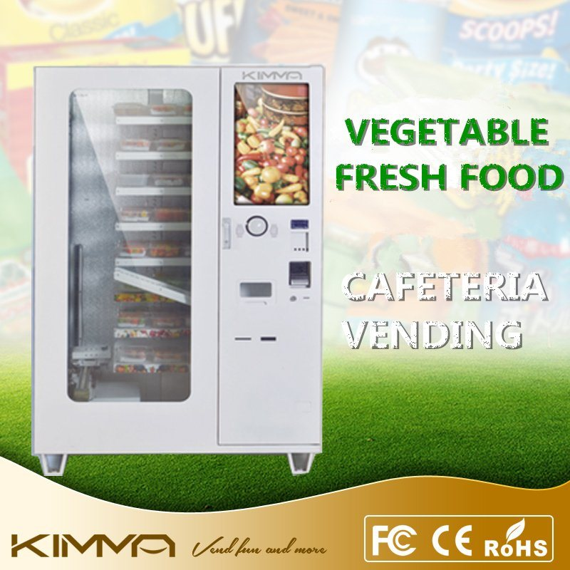 Yogurt Vending Machine Deliver by Conveyor with Touch Screen