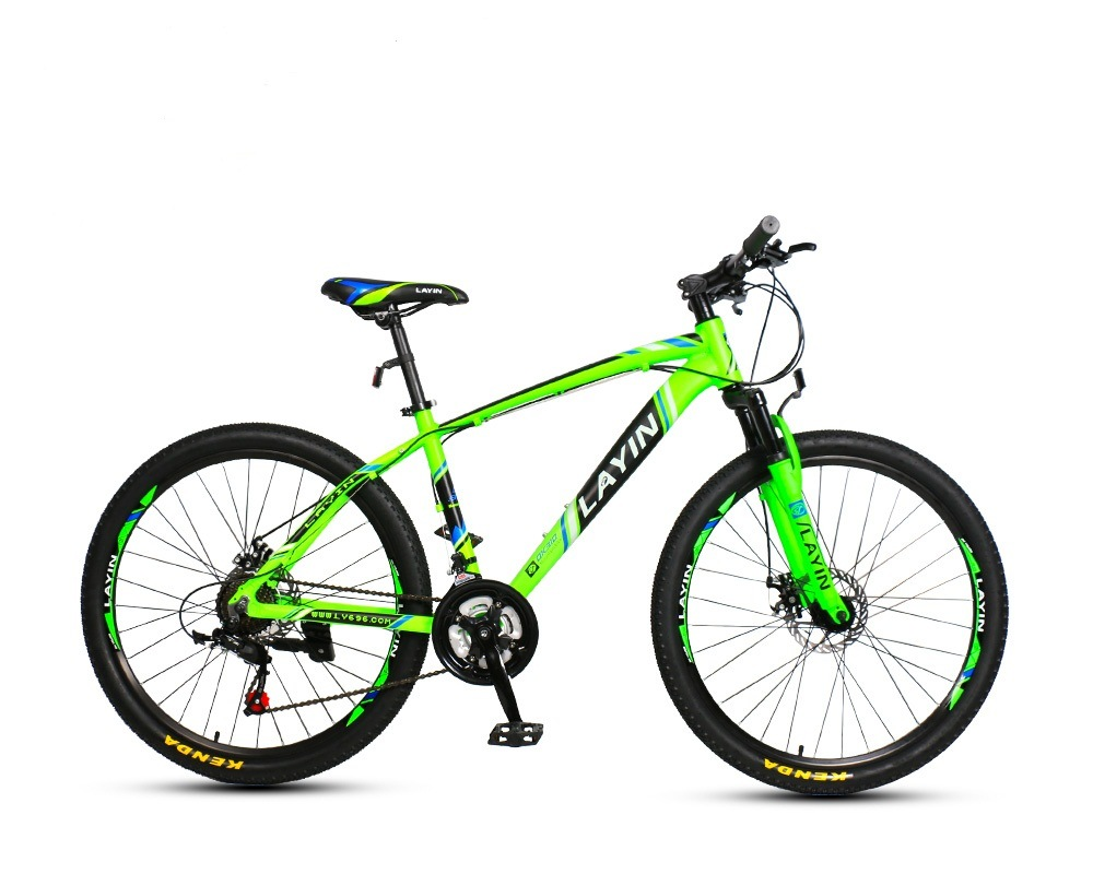 """24""""/26""""/27.5"""" 21-Speed with Shimano Shifter&Derailleur Aluminum Alloy Mountain Bike"""