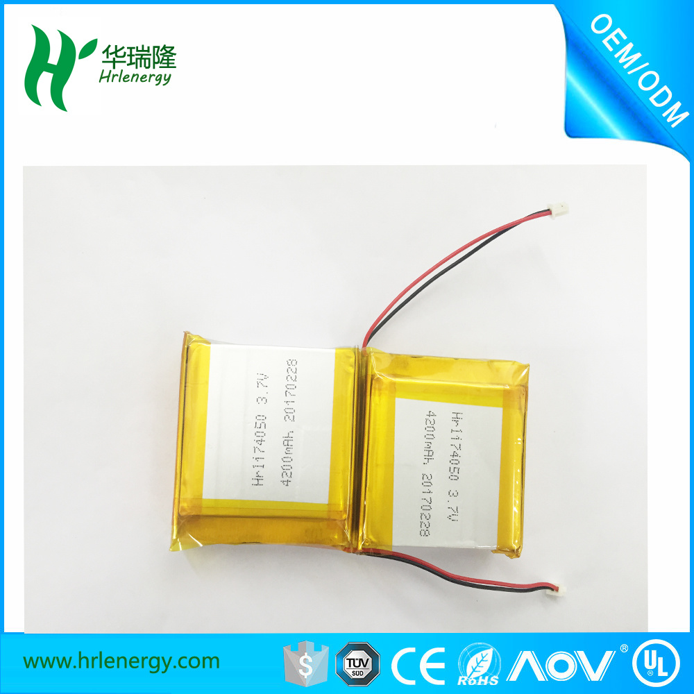 854050 4200mAh Competitive Price Lipo Battery Cell 3.7V Li-ion Battery Pack 11.1V