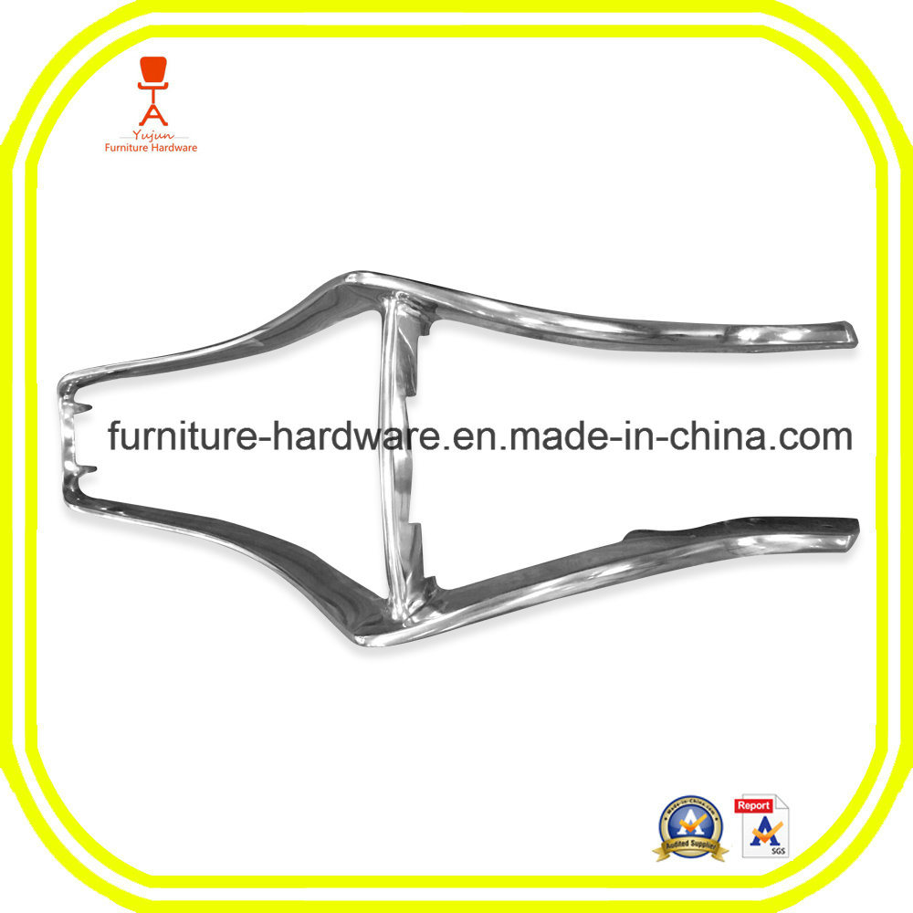 Furniture Hardware Parts Ergonomic Office Chair Back Support Aluminum Alloy
