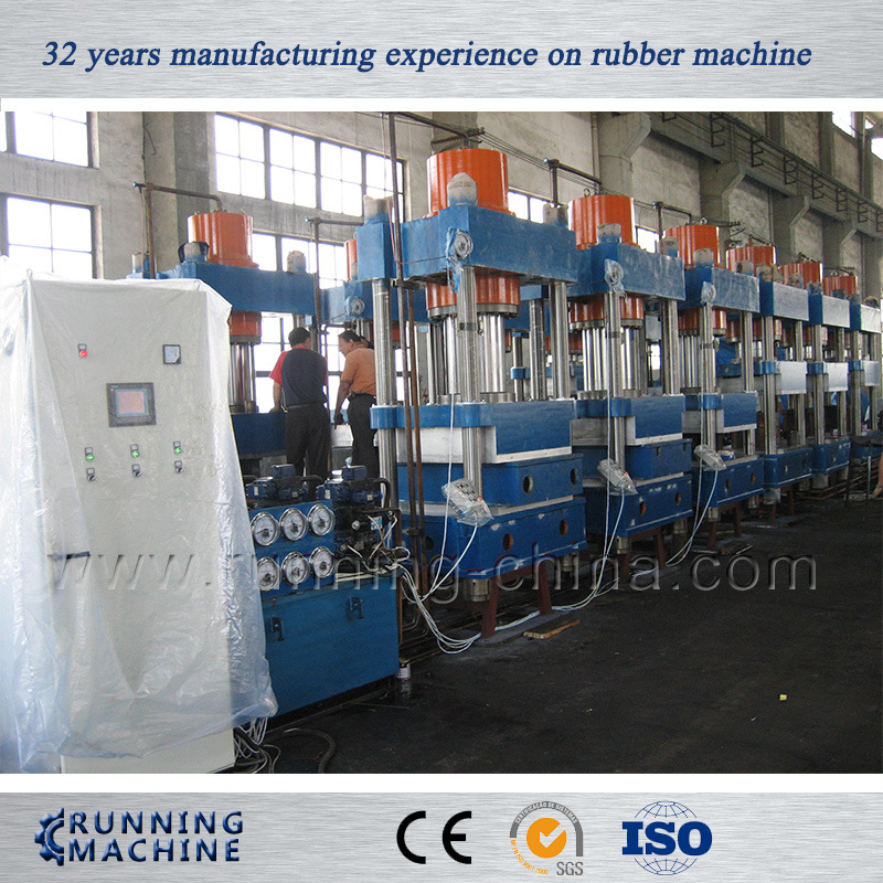 Four Column Type Rubber Vulcanizer with Ce/SGS