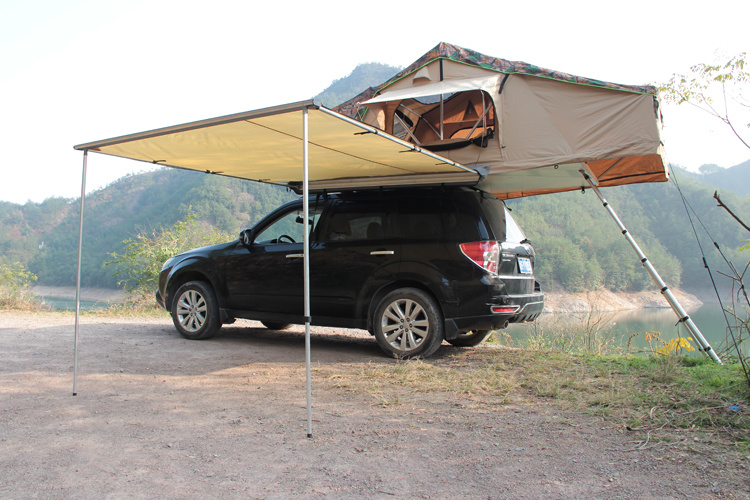 Little Rock Popular Water Proof UV Awning with Camping Tent