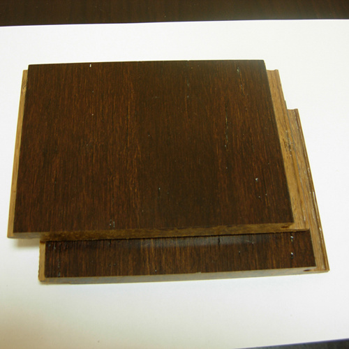Horizontal Carbonized Solid Bamboo Flooring
