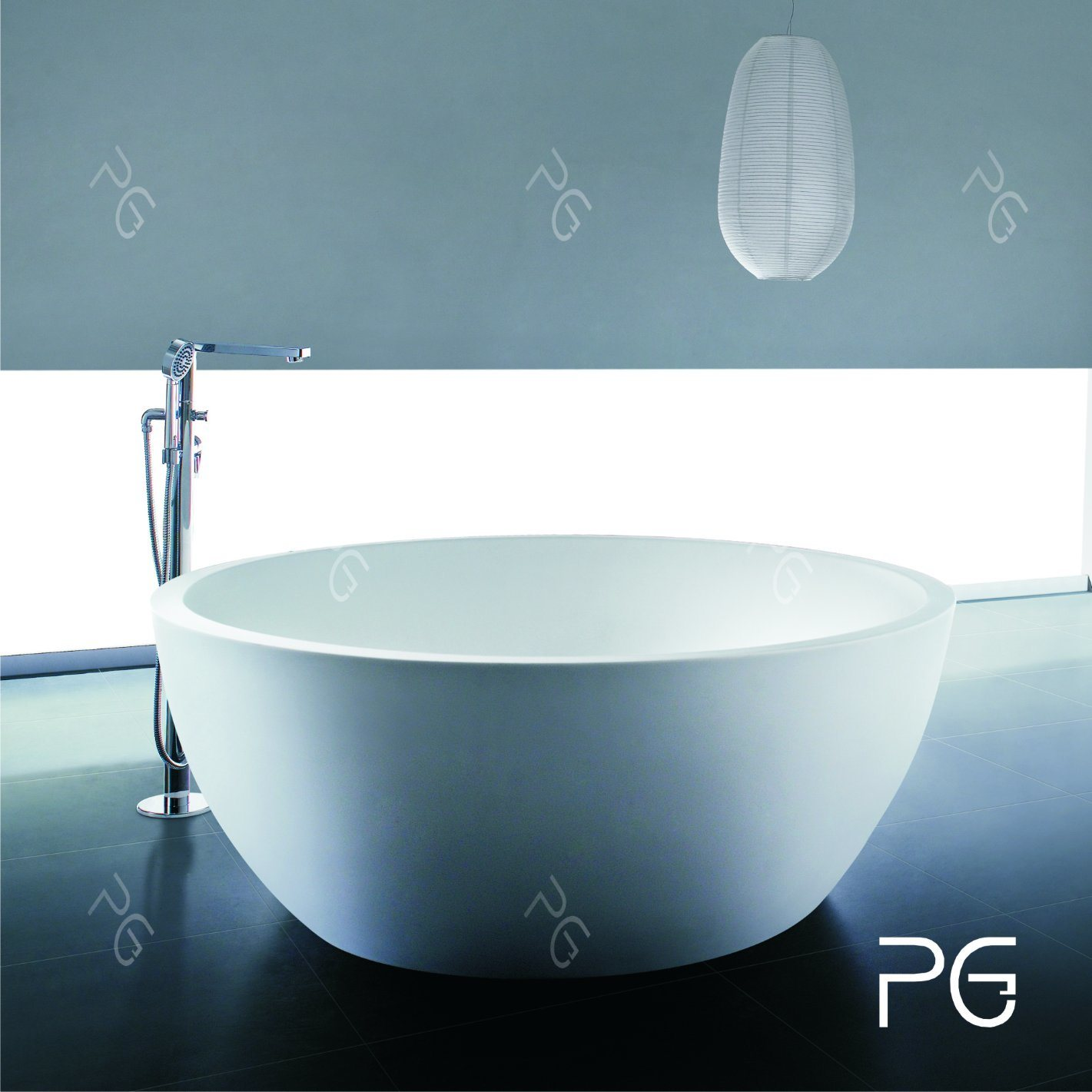 Artificial Stone Solid Surface Bathtub High-End Quality