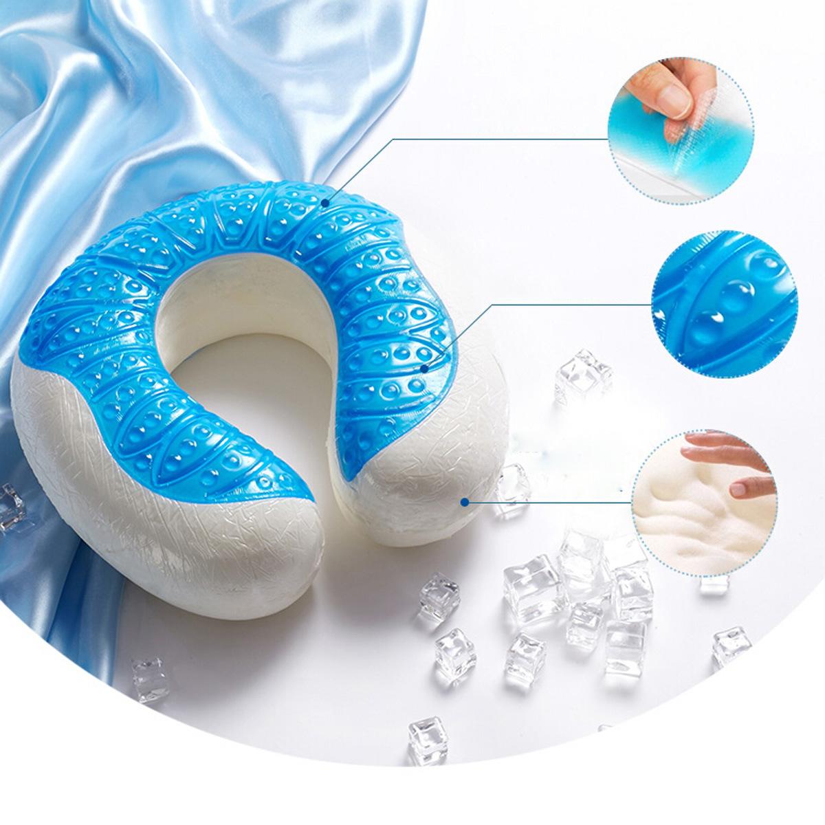 Wholesale U-Shape Gel Cool Pillow