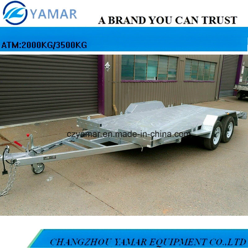 2m Wide 5m Length Car Trailer
