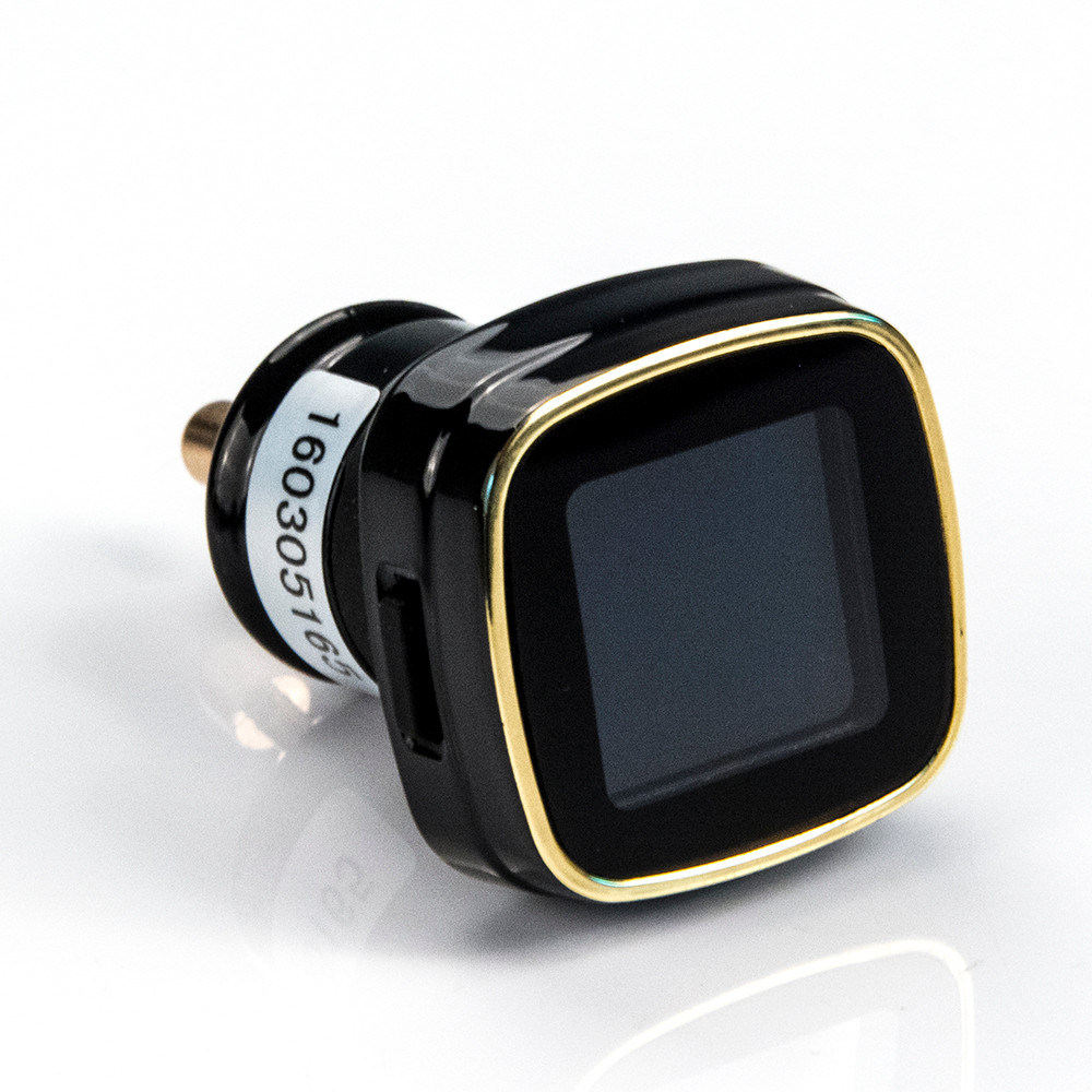 TPMS Tyre Pressure Monitoring System+4 External Sensors Cigarette Lighter