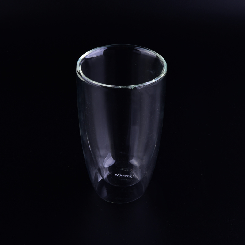 Double Wall Glass Cup for Tea, Coffee and Tea