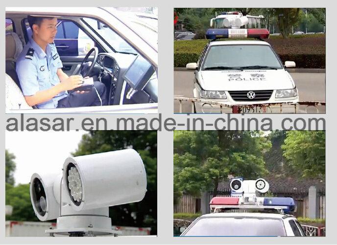 3G 4G Police Vehicle License Plate Recognition System Radar PTZ Camera Mobile Police Evidence System