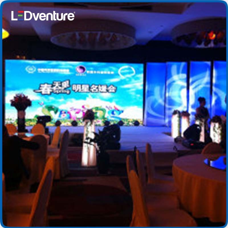 Indoor Full Color LED Video Wall for Rental Events Conference