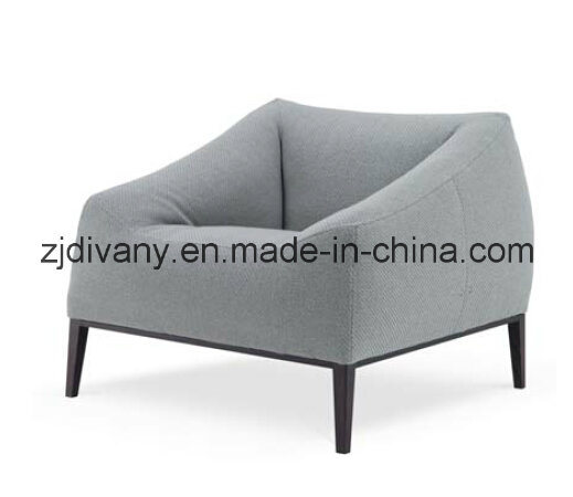 Modern Style Home Leather Sofa Fabric Sofa Furniture (D-76-C)