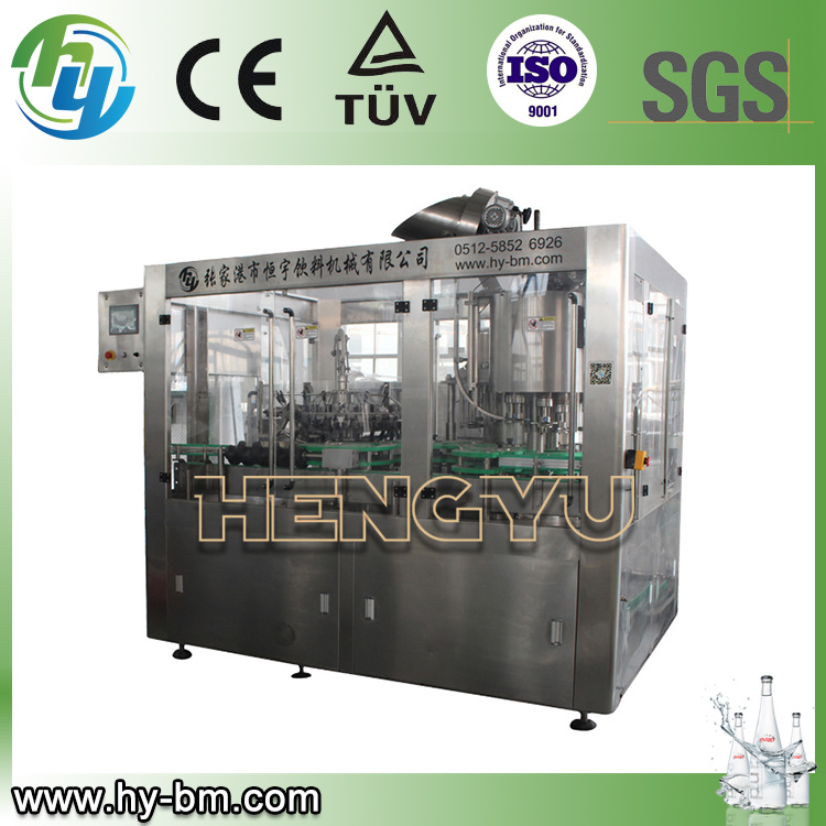 SGS 3-in-1 Glass Bottle Water Filling Machine (BCGY)