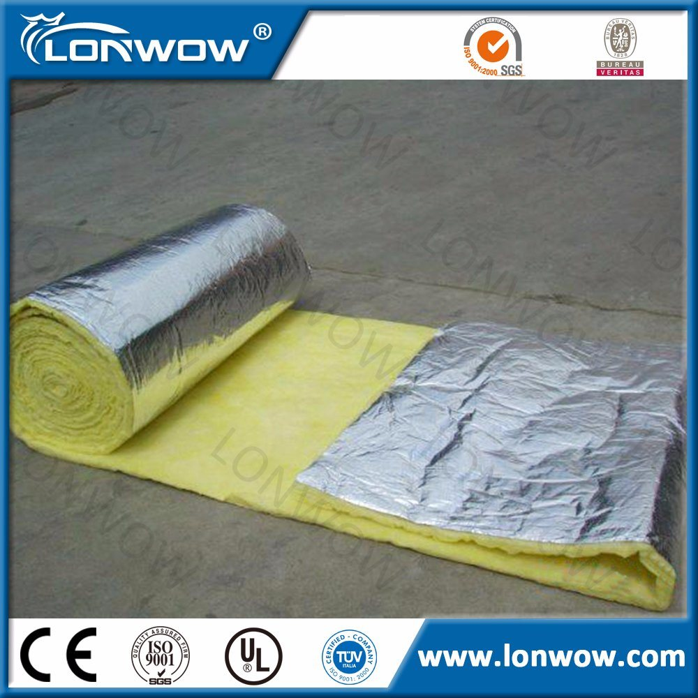 High Quality Soundproof Glass Wool with Aluminium Foil with CE