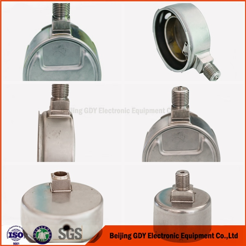 Dedicated Laser Welding Machinery for Pressure Gauge Case