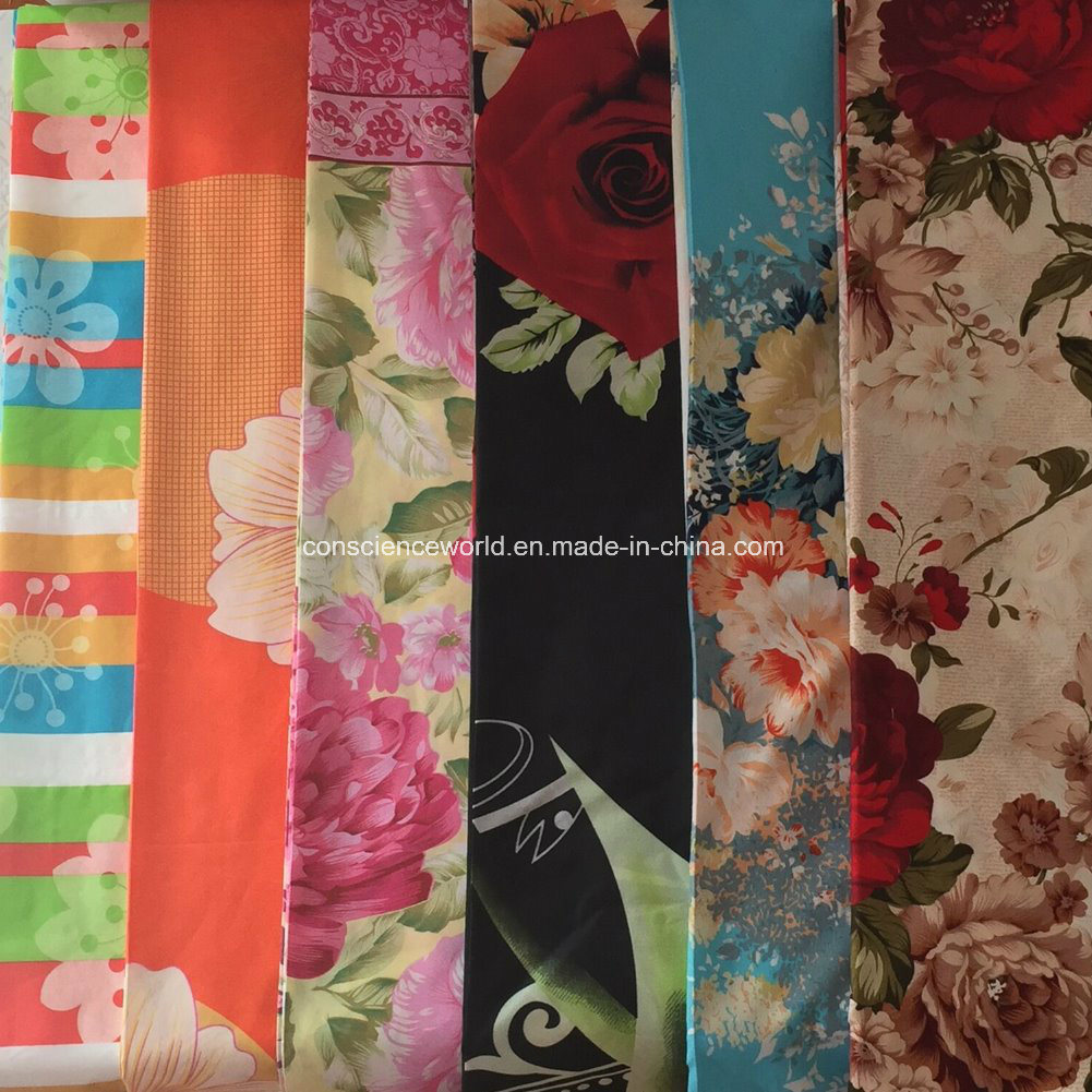 100%Polyester 75GSM288f Disperse Printed Fabric for Comforter Set