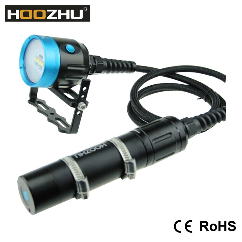 Hoozhu Hv33 CREE Xm-L 2 4000lm Canister Dive Light Hv33