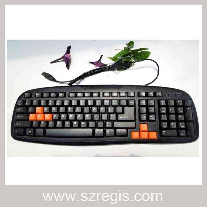 Universal Waterproof Game USB Mini Wired Computer Standard Keyboard