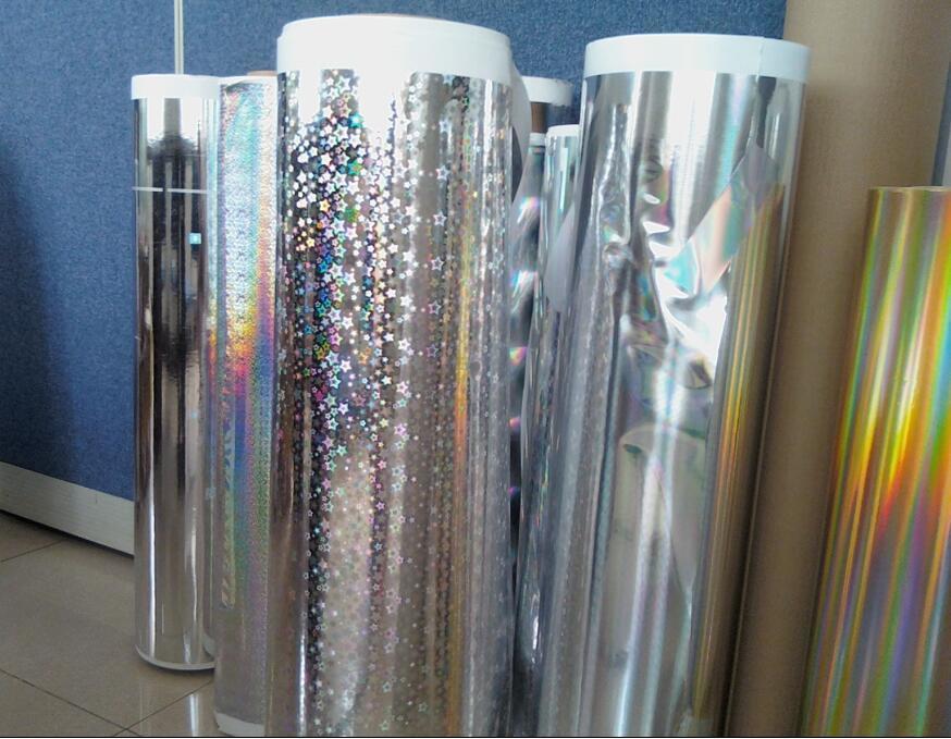 Vacuum Pet Metalized Silver Film
