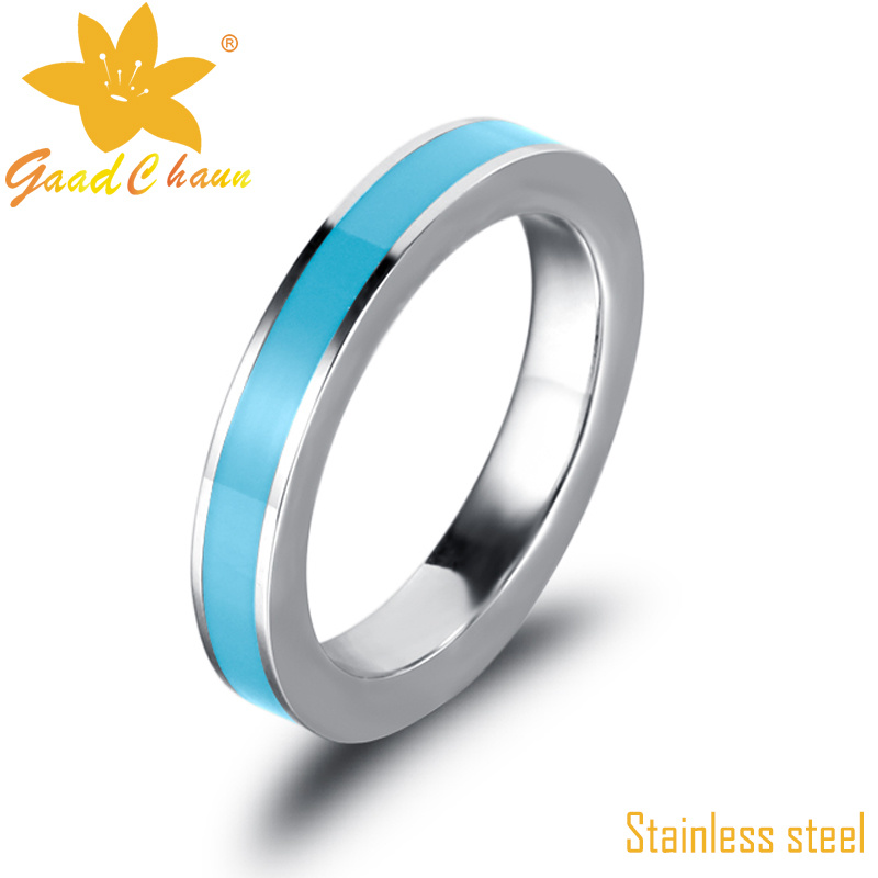 Exsr85b Fashion Accessories Stainless Steel Anniversary Rings