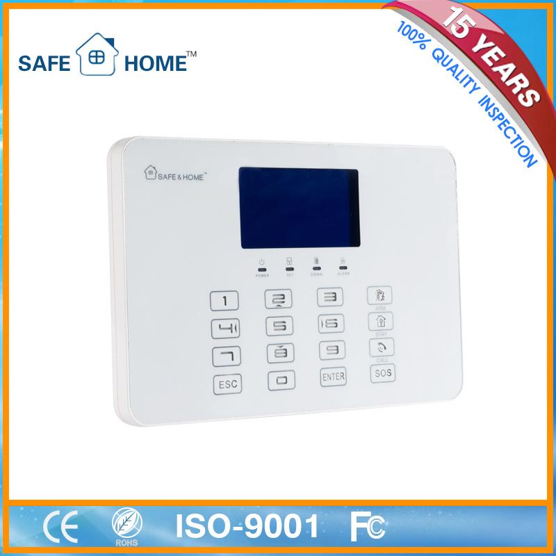 GSM House Burglar Fire Alarm System Panel