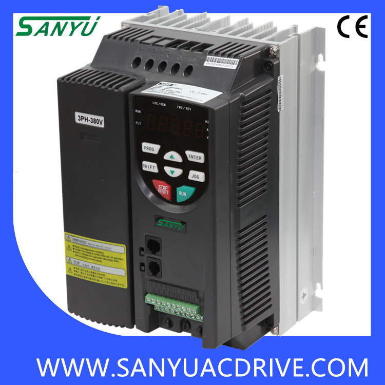 32A 15kw Sanyu Frequency Inverter for Fanmachine (SY8000-015P-4)