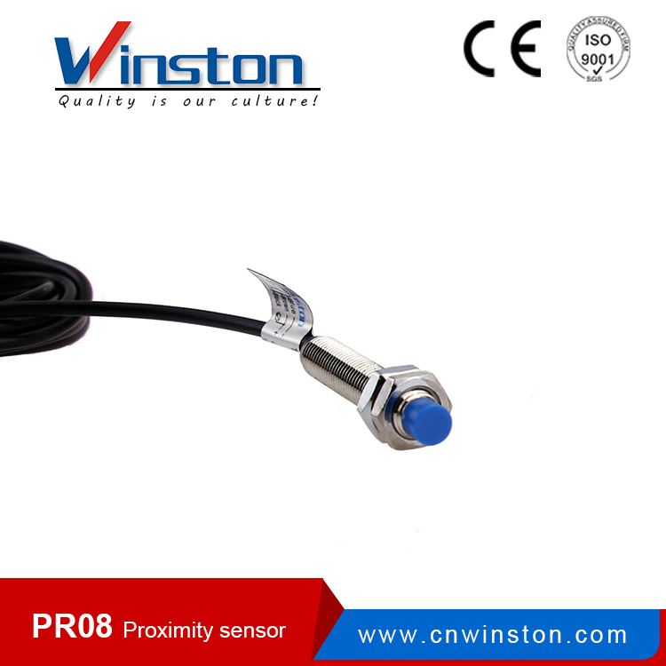 Pr08 ABS Metal Inductance Proximity Sensor Switch