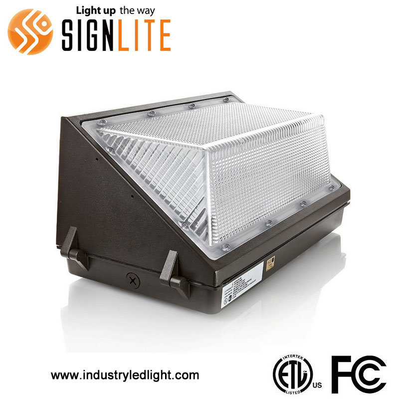 70W 5years Warranty LED Wallpack Light with ETL FCC