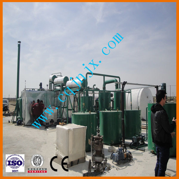Used Car Engine Oil Truck Oil Recycling Waste Oil Re-Refining Equipment