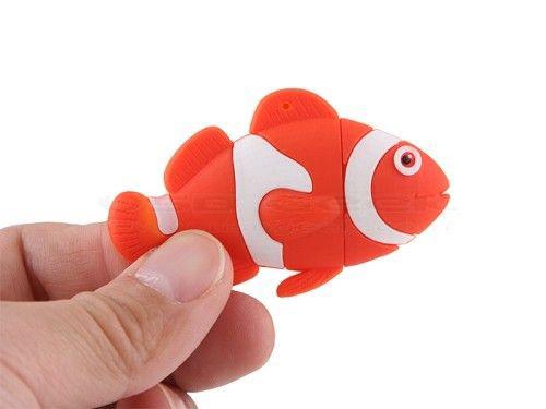 Customized PVC Fish USB Flash Drive Company Gift