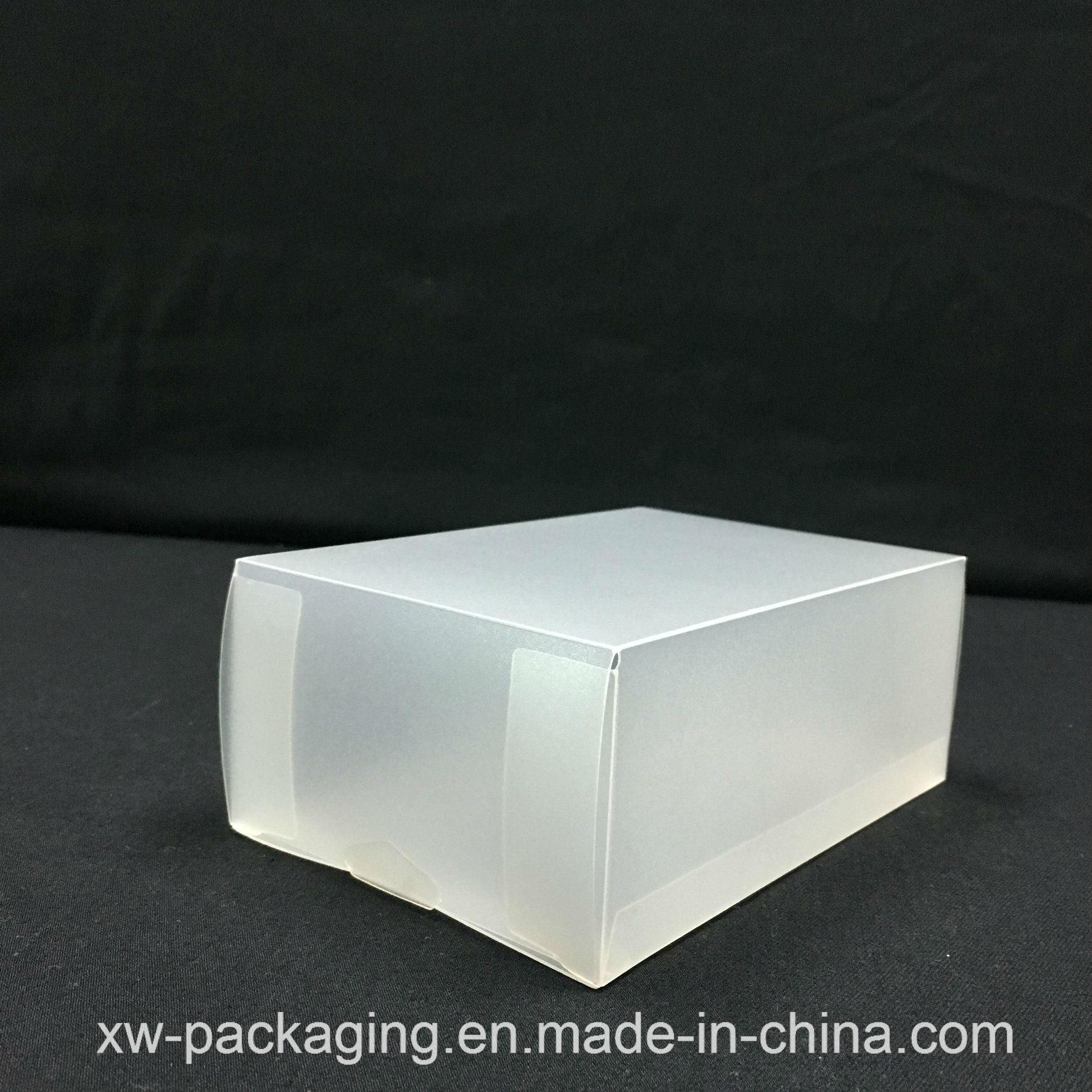 Custom Frosted Plastic Box for Gift Blister Packaging