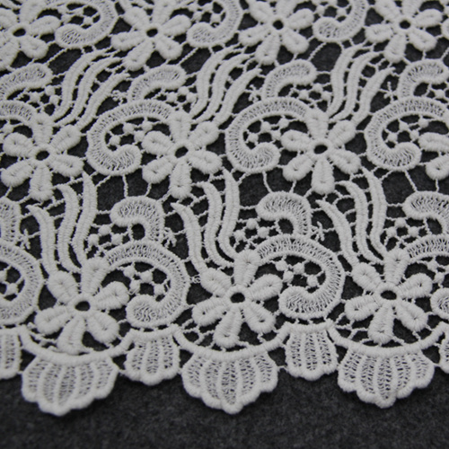 Cotton Chemical Lace Fabric for Clothes