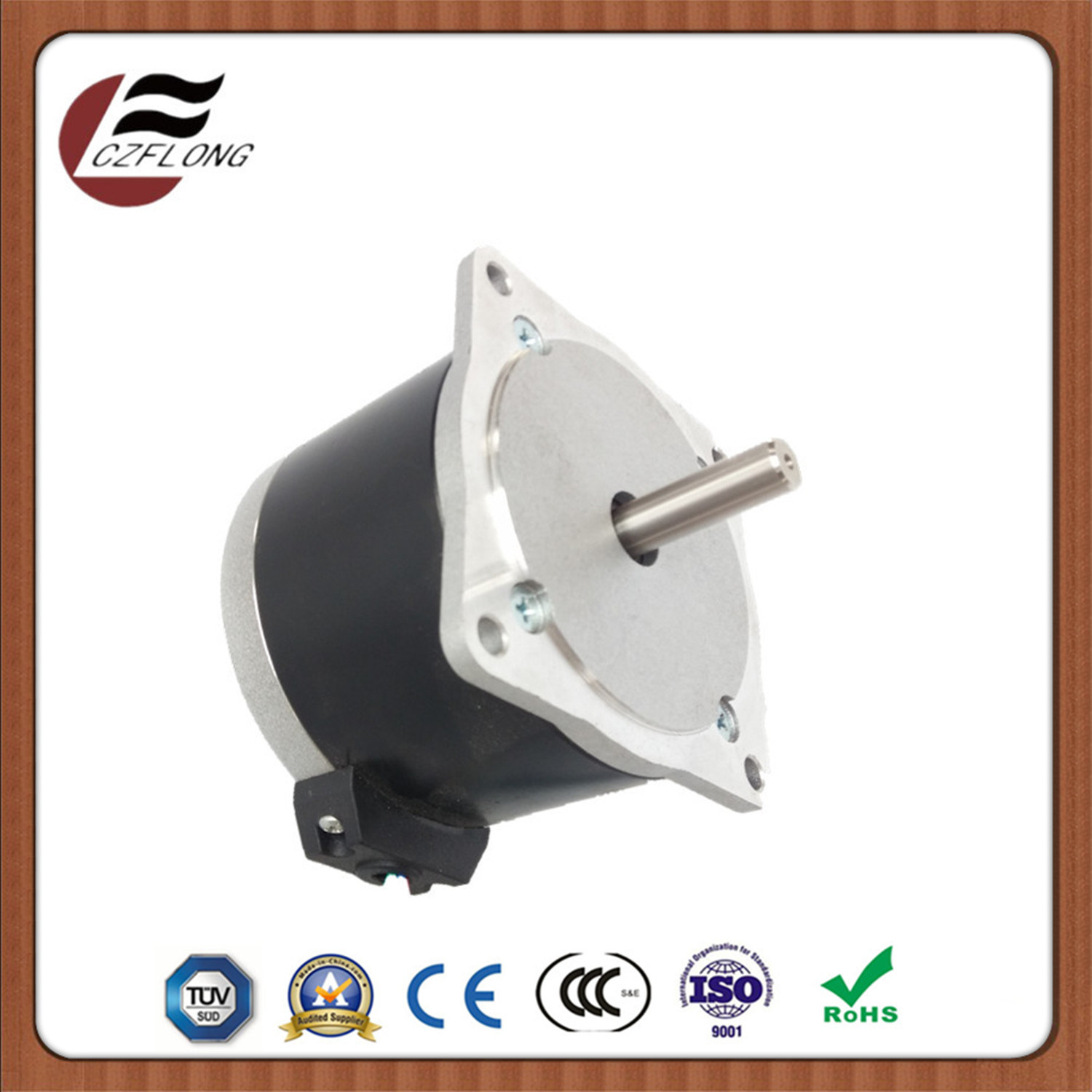 1.8-Deg NEMA34 86*86mm Stepping Motor for Embroidery Machine with Ce