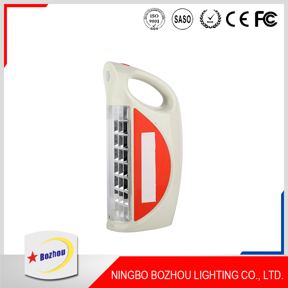Light Manufacturer 12V Portable Rechargeable LED Emergency Light