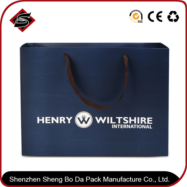 Portable Customzied Printing Paper Cosmetic Packaging Shopping Box