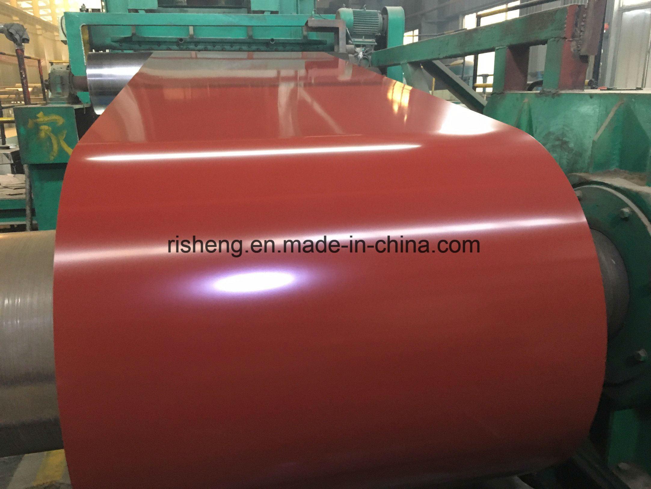 Factory Price Prepainted Galvanized Steel Coil PPGI