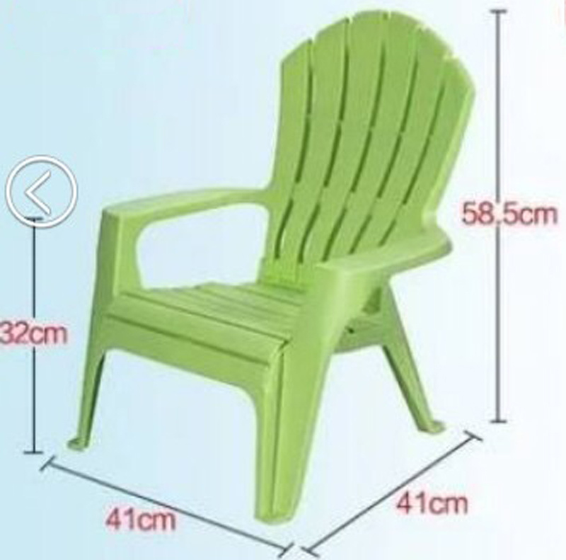 Adults and Kids Plastic Beach Chair