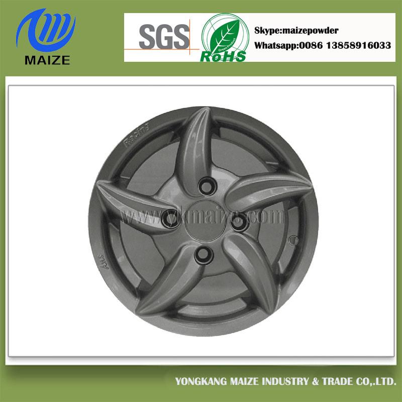 Automobile Wheel Hub Use Powder Coatings