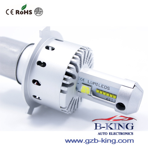 8000lm Per Bulb DIY H4 Auto LED Lamp
