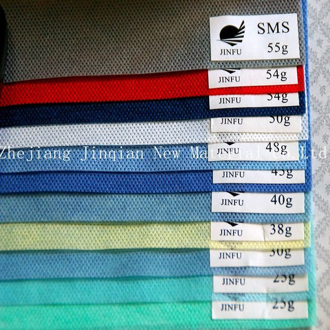 Medical&Home-Textile Material 9~180g PPSB Nonwoven Fabric