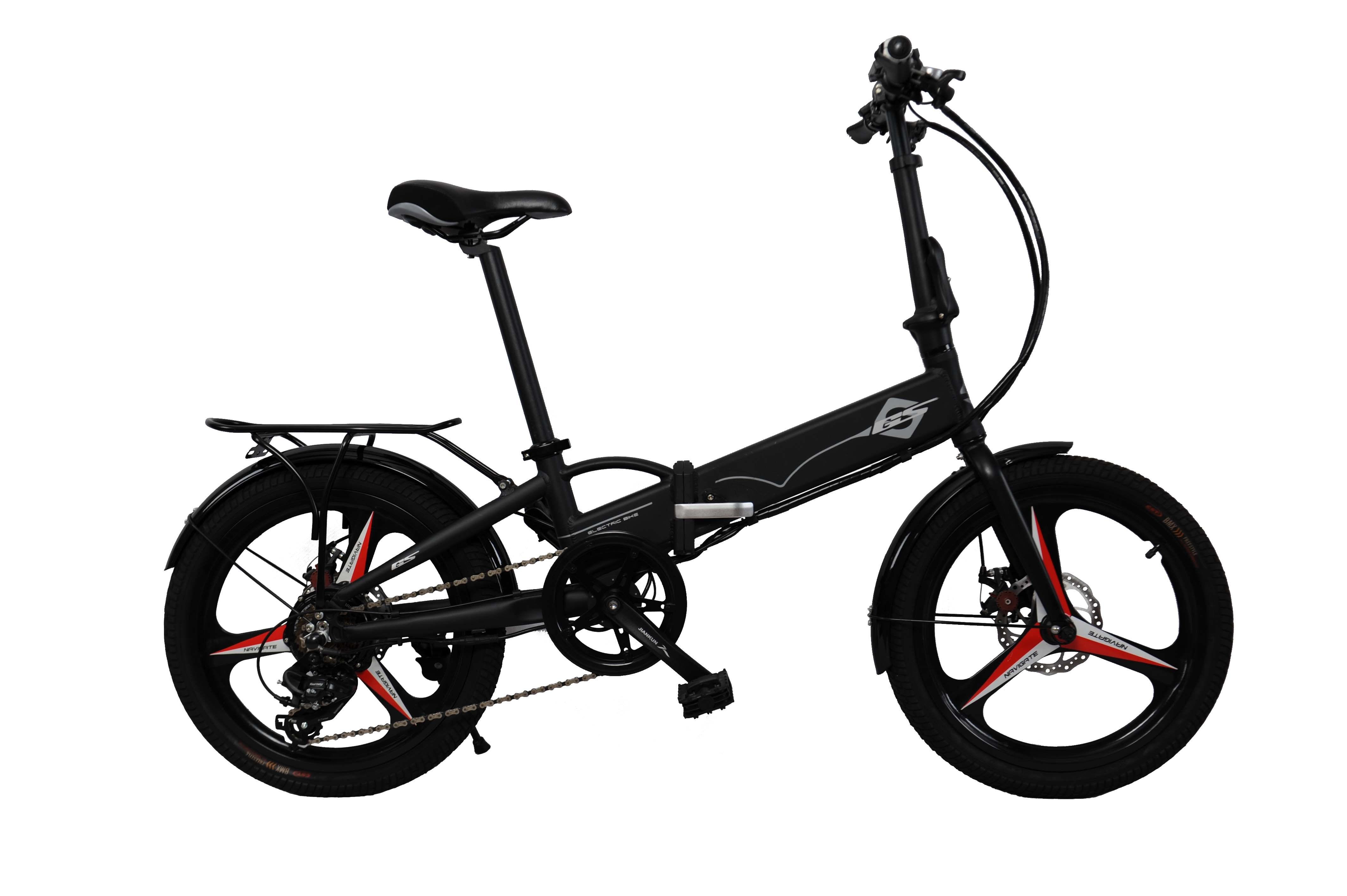 20 Inch Foldable Aluminum Alloy Electric Bike E-Bike