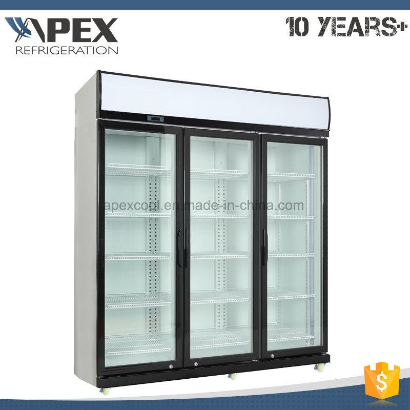 Commercial Beverage Display Cooler/Drinks Display Fridge/Supermarket Display Refrigerator