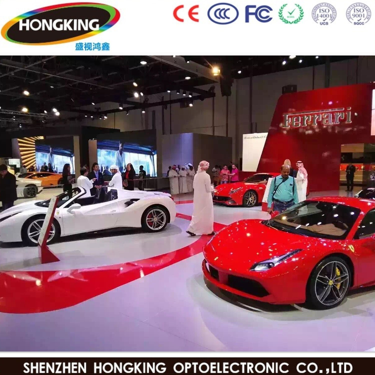 High Refresh P3.91 3840Hz Indoor LED Video Wall